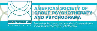 Logo for the American Society of Group Psychotherapy and Psychodrama